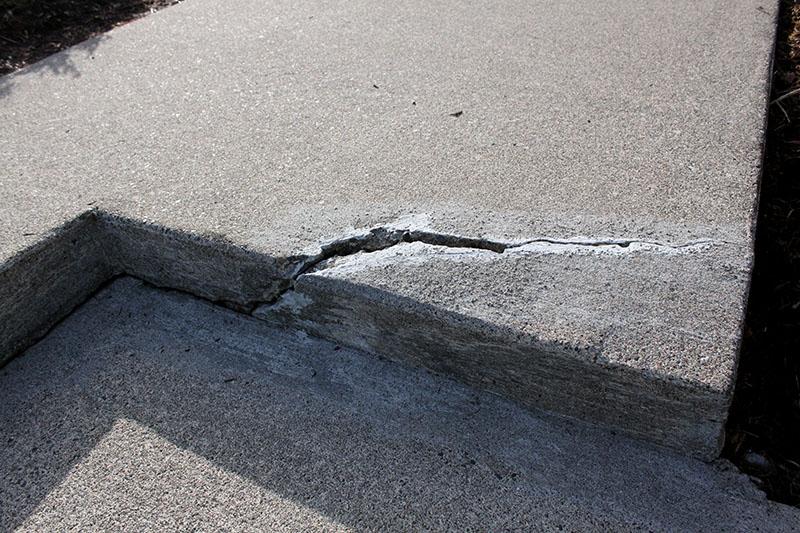 new orleans concrete crack repair